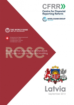 Latvia Accounting and Auditing Report on the Observance of Standards and Codes cover