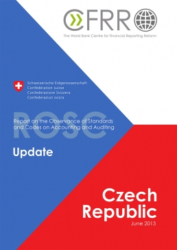 Czech Republic Accounting and Auditing Report on the Observance of Standards and Codes cover