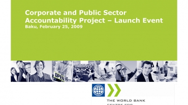Corporate and Public Sector Accountability Project – Launch Event presentation cover