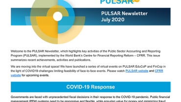 PULSAR Newsletters